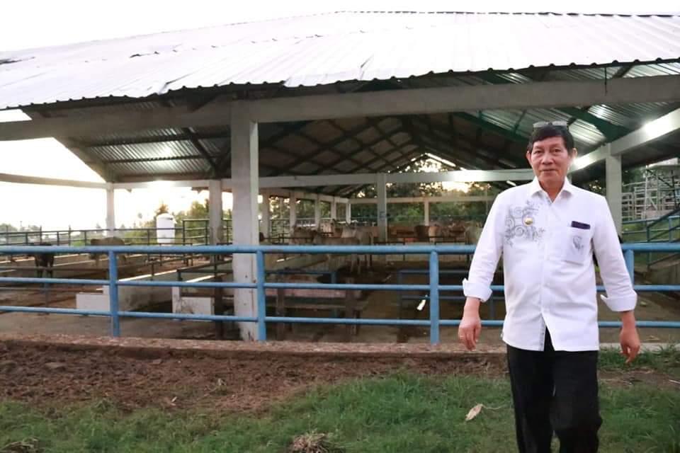Tinjau RPH Sapi di Bailang, Lumentut Minta Dinas PKP Tingkatkan Pemanfaatan