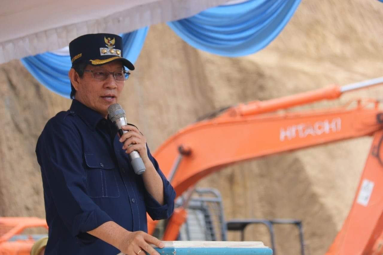 GSVL-Mor Kembali Ukir Sejarah Baru: Pembangunan RSUD Kota Manado Dimulai (foto: Tim Medsos Pemkot Manado)