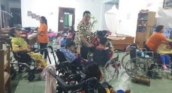 Wali Kota Tomohon Berbagi Kasih di Panti Sayap Kasih