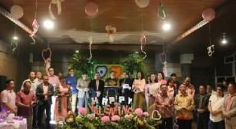 Pemkot Tomohon Ibadah Valentine di Anugerah Hill