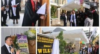 Wali Kota Tomohon Resmikan Gedung Gereja ''Wilken'' Paslaten, Jemaat ke-1.000 di GMIM
