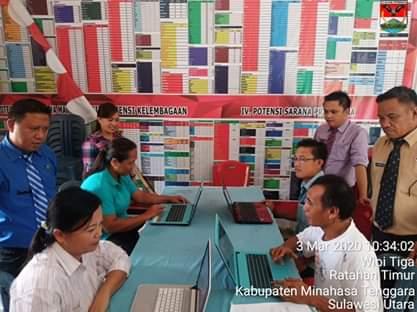 Dukung Program Bupati, Kecamatan Ratahan Timur Gelar Pelatihan Komputer Bagi Perangkta Desa
