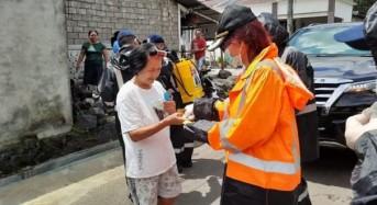 Hari ini VAP Salurkan Bantuan di 3 Kecamatan untuk Cegah Covid-19