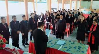 Ketua KPU Mitra Wolter Dotulong Lantik 60 PPK Pilgub 2020