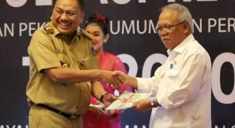 12 Provinsi Bahas Program Pembangunan Infrastruktur PUPR di Sulut