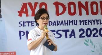JPAR: PMI Manado Targetkan 5.000 Kantong Darah Sampai Manado Fiesta 2020