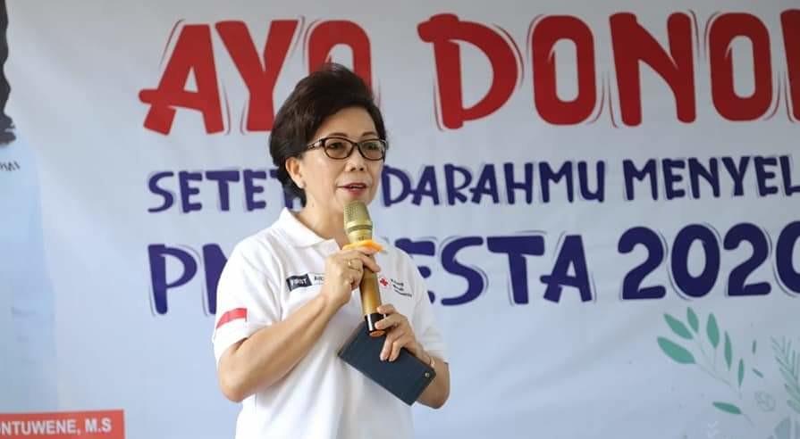 PMI Manado Targetkan 5.000 Kantong Darah Sampai Manado Fiesta 2020