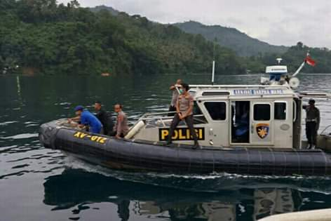 Pantau Aktifitas Warga, Kapolda Lumowa Gelar Patroli di Selat Lembeh