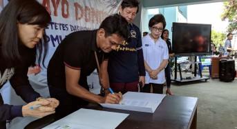 Sukseskan Manado Fiesta 2020, Dispar dan Telkom Teken MoU