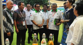 Kepala Staf Kepresidenan RI Kunjungi Stand Pemkot Manado di Pameran ASAFF 2020