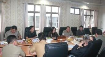 Miky Wenur Pimpin Rapat Pansus Ranperda Pengelolaan BMD