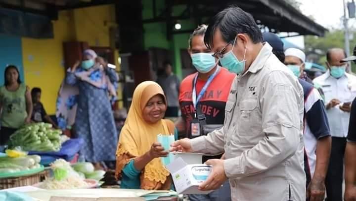 Ini Penjelasan Wali Kota GSVL Terkait Bantuan Pemerintah Selama Pandemi Covid-19