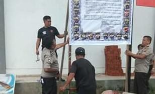 Polres Minahasa Tenggara Giat Sosialisasi Pencegahan Covid 19