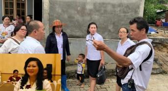 DP3A Manado Turun Langsung Pantau Kondisi Anak Korban Banjir di Tuminting
