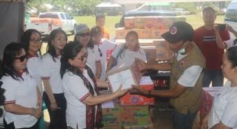 DWP Sulut Salurkan Bantuan Untuk Korban Bencana di Bolmong dan Bolmut