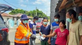 Cegah Covid-19, VAP Bagikan Hand Sanitizer, Masker dan Uang Tunai kepada Masyarakat