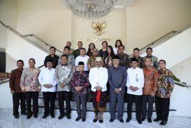 Bersama Asosiasi FKUB, Gubernur Olly Temui Wapres Ma'ruf Bahas Persiapan Konferensi Nasional FKUB di Sulut