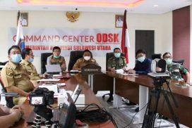 Rapat Lewat Video Teleconference dengan Bupati dan Wali Kota, Olly Minta 'Keroyokan' Bantu Warga Terdampak Corona