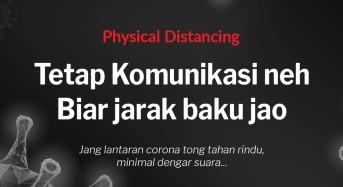 WHO Ubah Social Distancing Jadi Physical Distancing, Gubernur Olly: Mari Manfaatkan Media Sosial Untuk Komunikasi