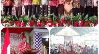 Artly Kountur Dilantik Ketua DMI Mitra, MTQ XVIII 2020 Resmi Dibuka