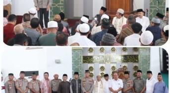 Kapolda Sulut Gelar Safari Kamtibmas di Masjid Raya Ahmad Yani Manado