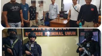 Unit Satu Timsus Maleo Polda Sulut Tangkap Tiga Pelaku Resedivis Curanmor