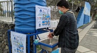 Cegah Corona, 504 Lingkungan di Kota Manado Bakal Miliki Tempat Cuci Tangan