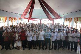Kunker di Talaud, Wagub Kandouw Tatap Muka dengan ASN dan THL Dikda Sulut