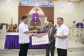 Buka Sidang Tahunan BIPRA SAG Sulutteng, Wagub Kandouw Ajak Warga Gereja Terus Menjaga NKRI