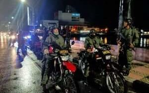 Bubarkan Kerumunan Massa, TNI-Polri Sulut Lakukan Patroli Besar-besaran