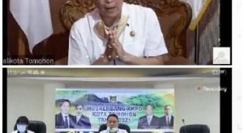 Wali Kota Tomohon Buka Musrenbang RKPD Tahun 2021