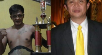 Almarhum Tito sempat Co-Promotor Saat Frangky Mamuaya vs Ahmad Fandy di Istora Senayan