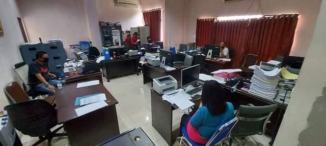 Sekwan Manado Koordinasikan Tugas Dengan Para Kabag di Masa Pandemi Covid-19