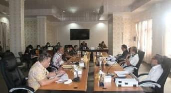 DPRD Tomohon Konsultasi dengan Pemkot Soal Pergeseran Anggaran Akibat Covid-19