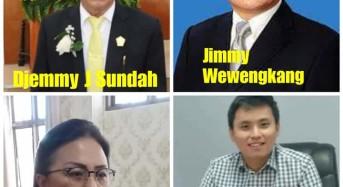 Ketua DPRD Tomohon dan Anggota Fraksi Golkar Donasikan Gaji untuk Penanggulangan Corona