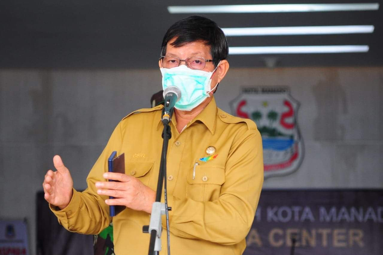Wali Kota G.S Vicky Lumentut
