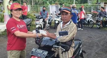 OD – SK Bantu 174 Tukang Ojek Pangkalan di Tatelu Raya