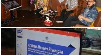 Pemkot Tomohon Rakor Percepatan Penyesuaian APBD untuk Covid-19 dengan Pemerintah Pusat