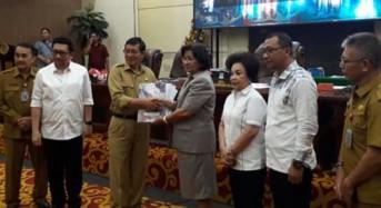 DPRD Manado Gelar Rapat Paripurna Penetapan Propemperda dan Revisi Rencana Kerja