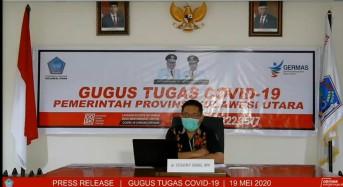19 Mei 2020: Positif Corona di Sulut Capai 126 Kasus, Ini Rincian Pasien Baru