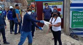 Lanjutkan Penyaluran di Kecamatan Wanea, GSVL Minta Pala Teliti Periksa Paket Bantuan