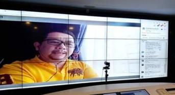 """Juri di Bincang Virtual """"Manado Kase Ide"""", Mor Bastiaan: Mari Bersama Cegah Corona"""