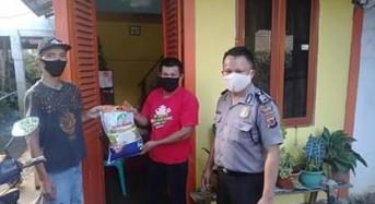 Polres Tomohon Kembali Kucurkan Bantuan ke Desa di Sonder