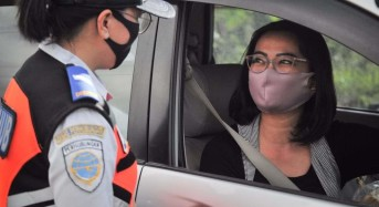 Dishub Manado Turunkan Personil di Pos Kontrol Kesehatan