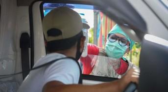 FOTO: Pos Pemeriksaan Kesehatan Pemkot Manado Mulai Beroperasi