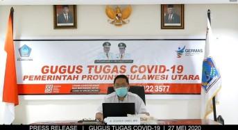 27 Mei 2020: Kasus Covid-19 di Sulut Bertambah 17, Total Jadi 281