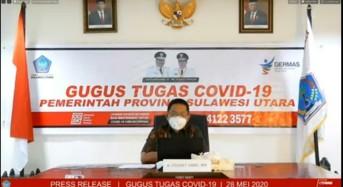 28 Mei 2020: Bertambah 16, Kasus Covid-19 di Sulut Jadi 297