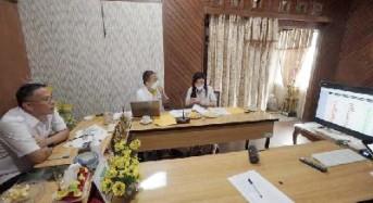 Rakorev, Eman Laporkan Capaian RKPD ke Dondokambey
