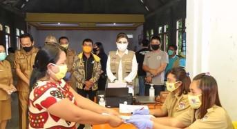 Bupati CEP Harap BLT-DD Tingkatkan Produktifitas Warga sdi Tengah Pandemi Covid-19
