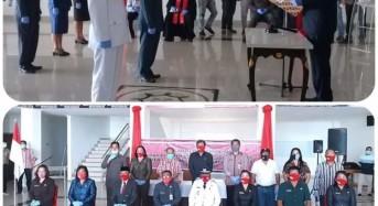 Wakili Bupati, Jocke Legi Lantik Delapan Pejabat Mitra